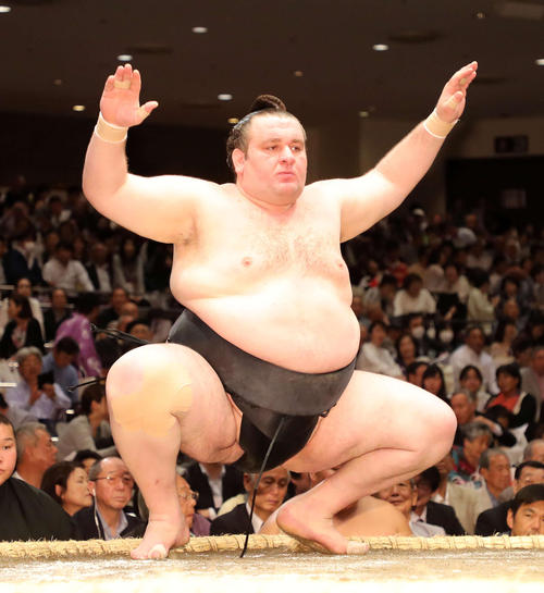 お相撲さんの臥牙丸