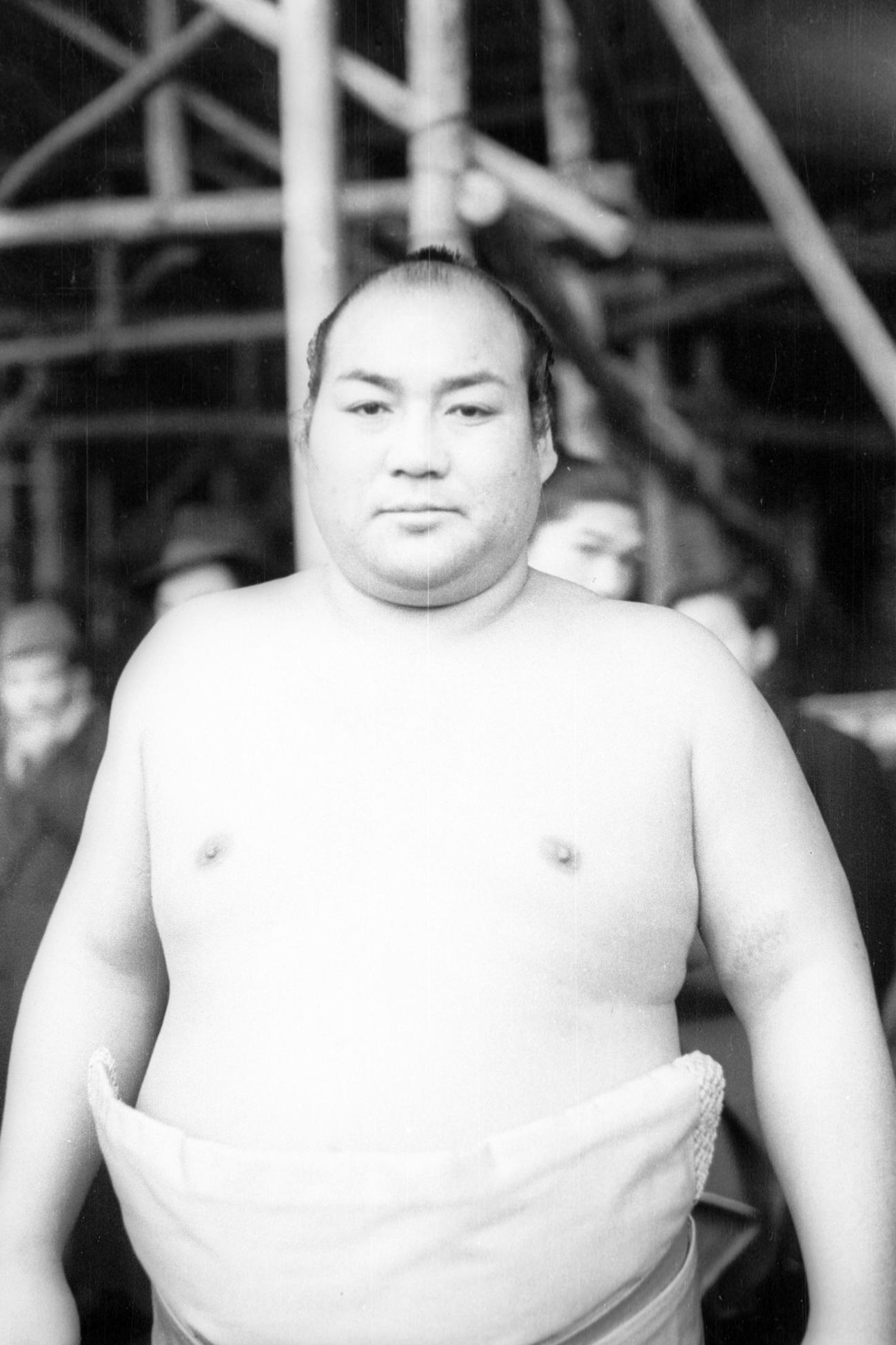 名寄岩(1951年1月16日撮影)