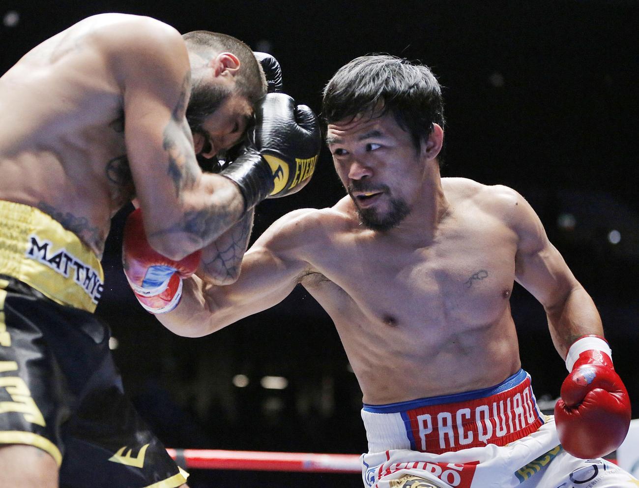 パッキャオ39歳復活KO60勝10個目世界ベルト - ボクシング : 日刊スポーツ