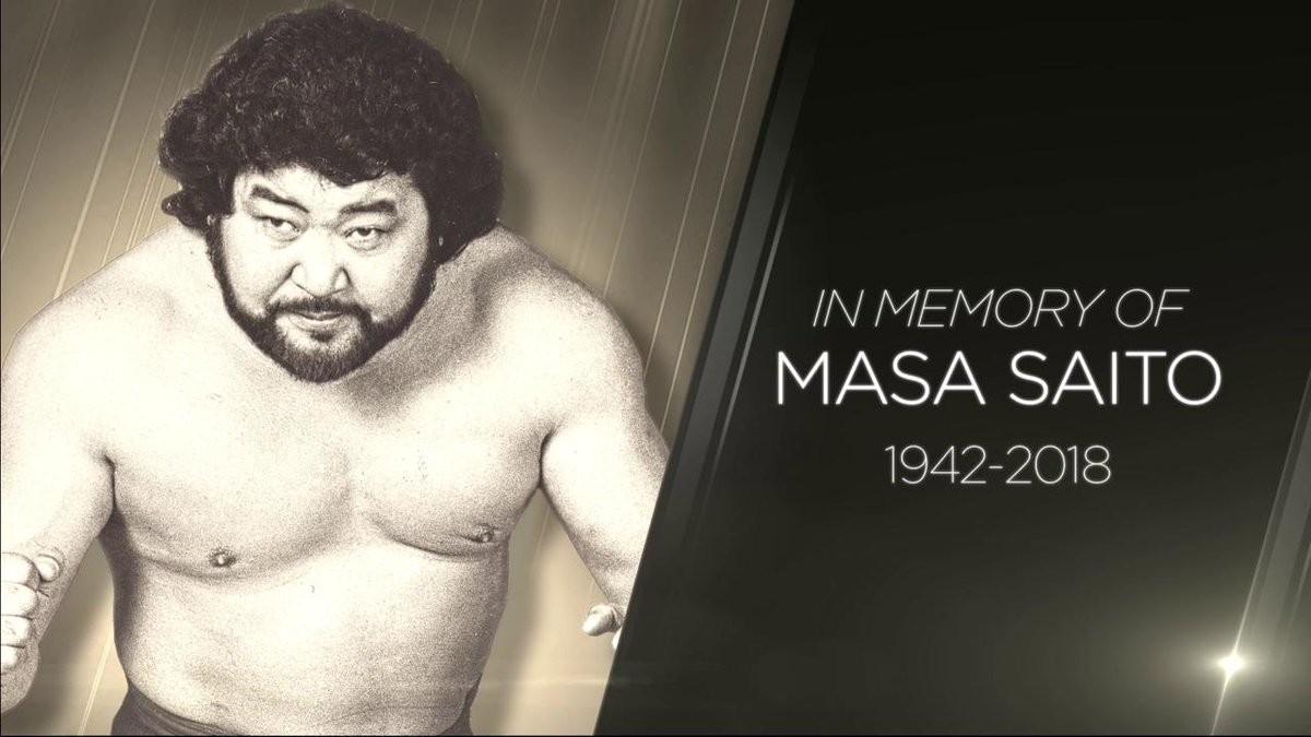マサ斎藤さんを追悼 WWE全米生中継冒頭で - プロレス : 日刊スポーツ