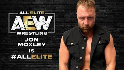 AEW参戦が発表された元WWEのディーン・アンブローズことジョン・モスクリー(団体公式サイトより)