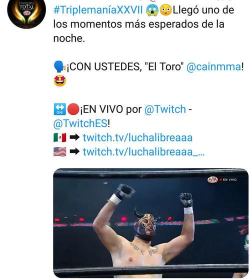 元UFC王者が憧れメキシコマットで白星デビュー - プロレス : 日刊 ...