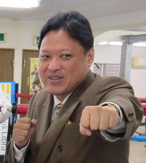 協栄ジム・金平桂一郎会長