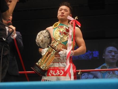 2冠王者となった竹迫司登