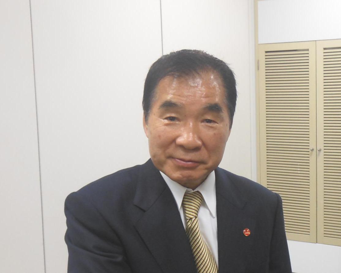 東日本ボクシング協会の花形進会長(2019年2月28日撮影)