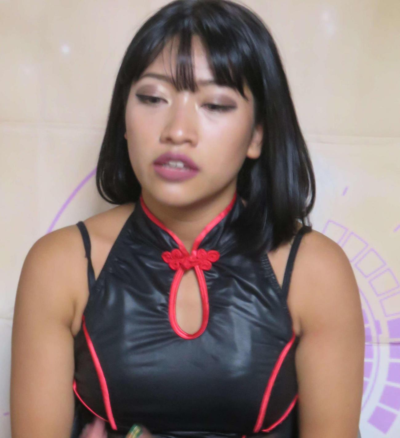 木村花さん(18年9月撮影)