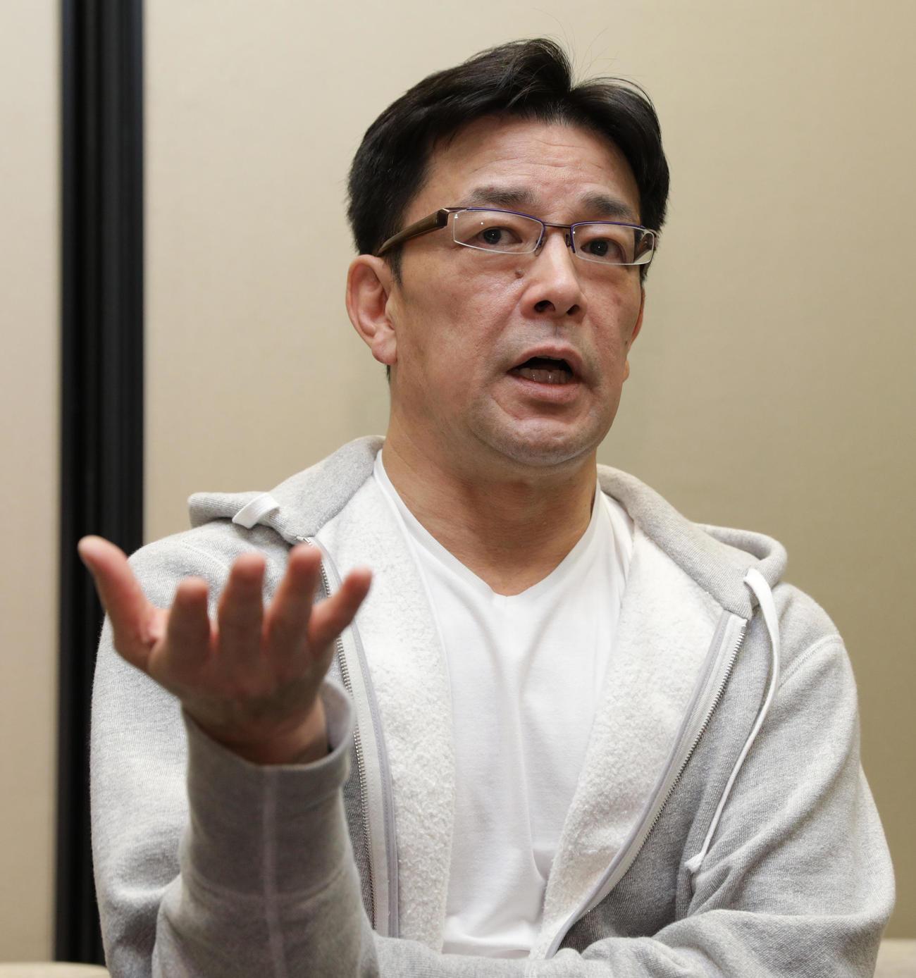 RIZIN榊原信行実行委員長(18年11月17日撮影)