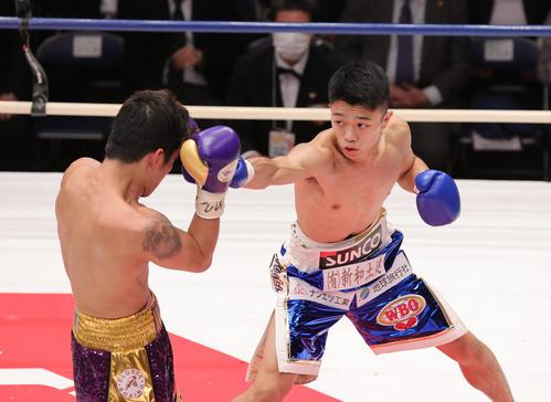 中谷潤人KO劇!初世界挑戦で奪取 2度の延期耐え - ボクシング : 日刊スポーツ