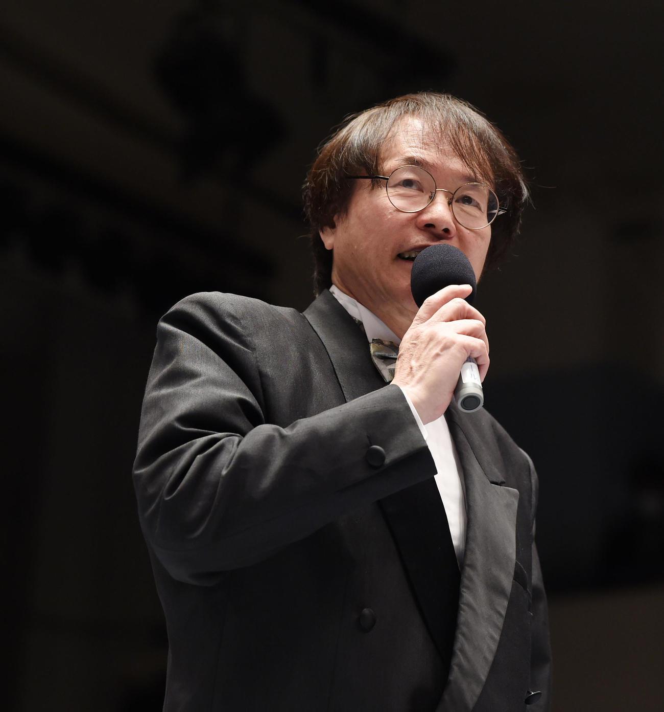 田中ケロ氏(2020年2月28日撮影)