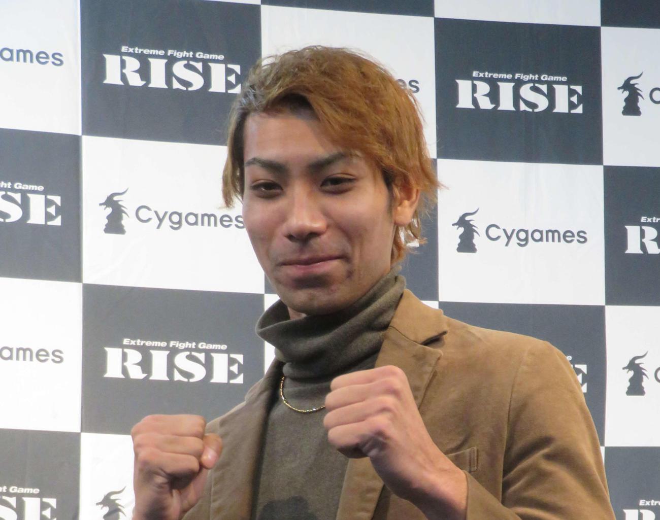 2月28日にキックボクサーとしてデビュー戦を迎える相内誠