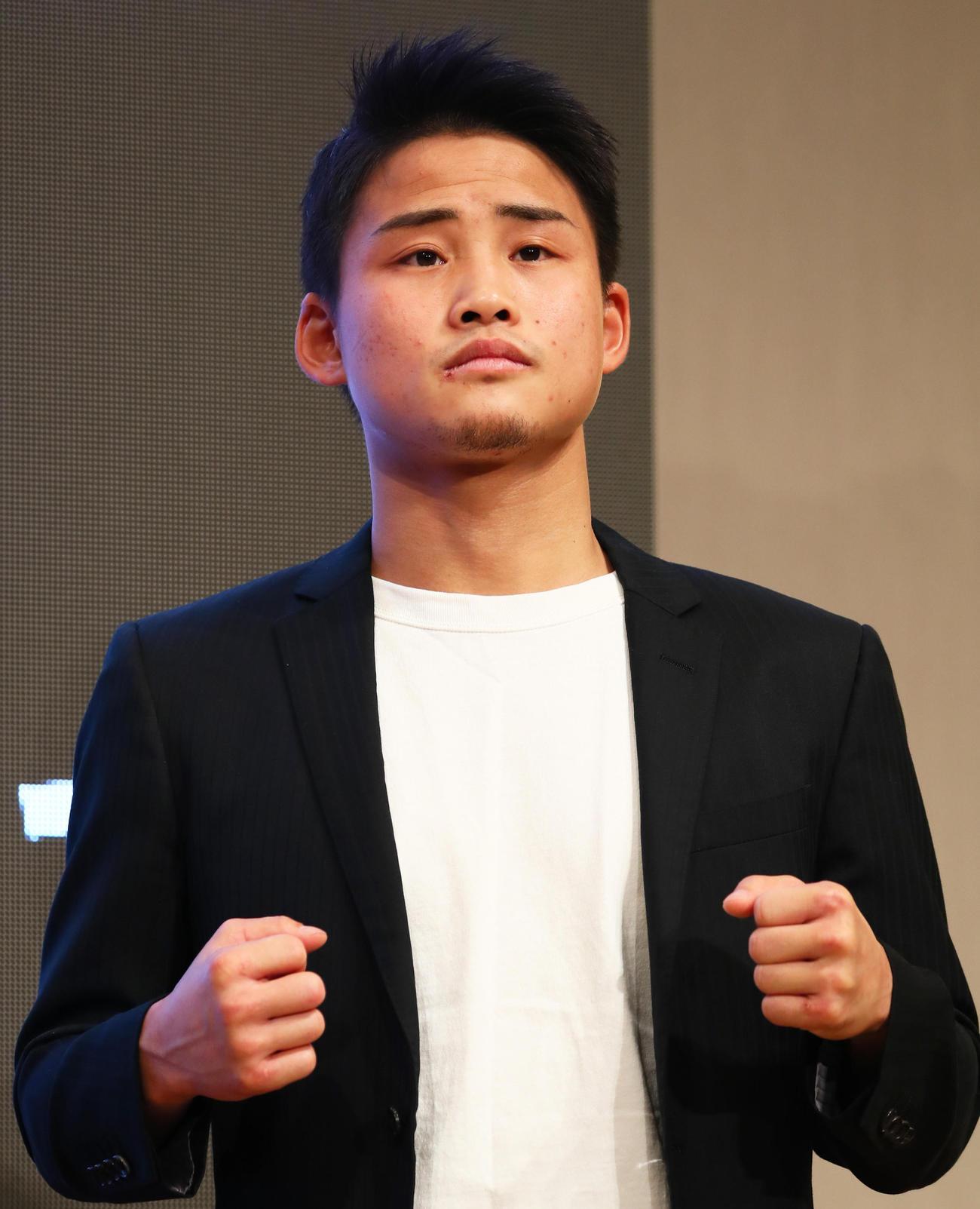 京口紘人(2021年1月21日撮影)