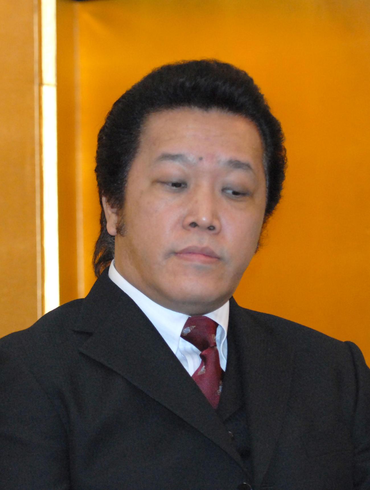 阿部徹氏(09年1月5日撮影)