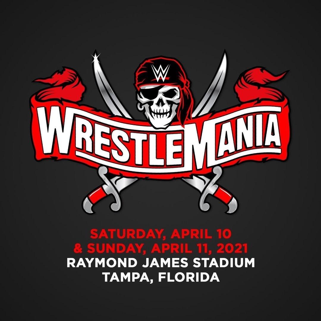レッスルマニア37大会のロゴマーク(C)2021 WWE, Inc. All Rights Reserved.