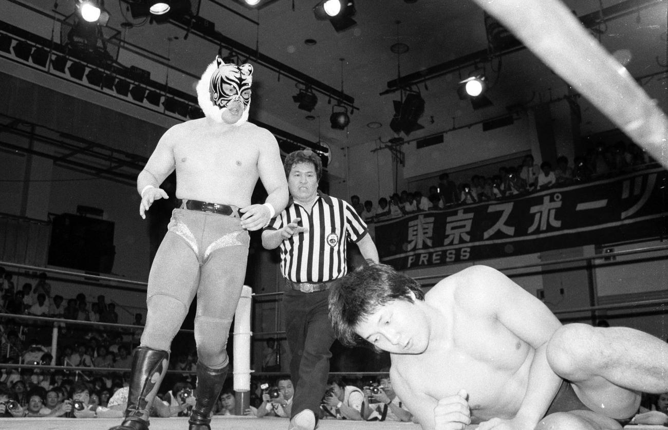 84年、前田日明と対戦