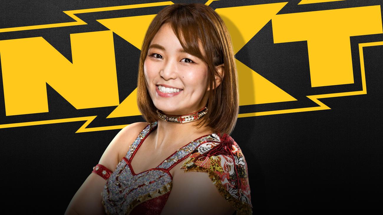 22日配信のNXT大会でWWEデビューする予定の元Sareeeことサレイ(C)2021 WWE, Inc. All Rights Reserved.