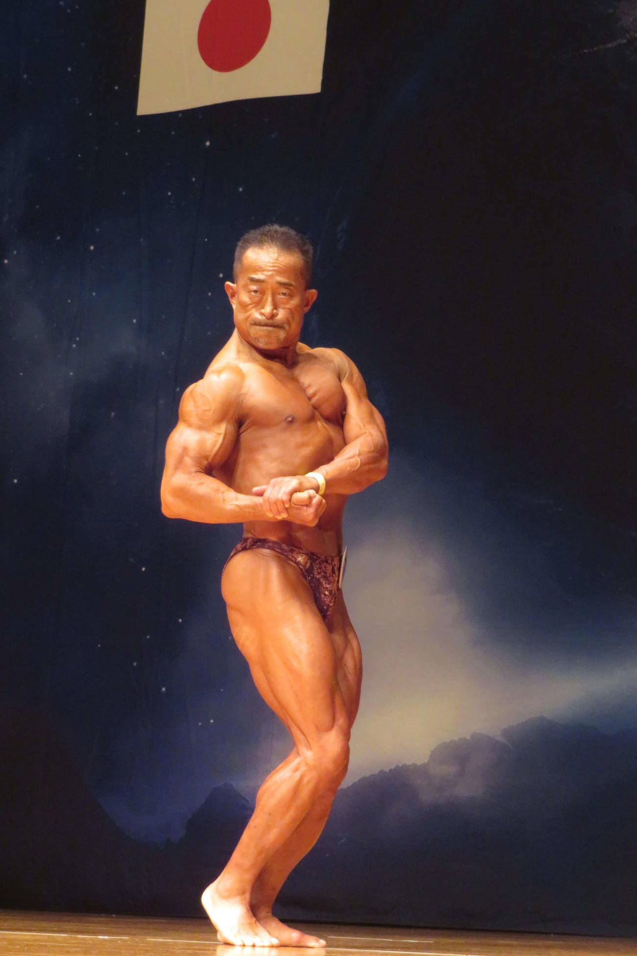 銅メダルの角田信朗