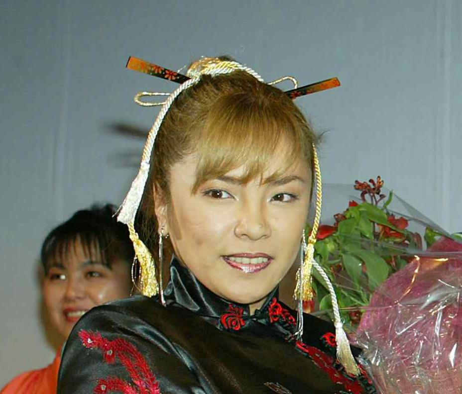 風間ルミさん(02年11月撮影)