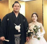 妙義龍が香奈夫人と挙式「まだまだ上を目指す」 - 大相撲 : 日刊スポーツ
