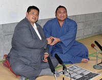 琴恵光が新入幕昇進「十両に上がった時からの目標」 - 大相撲 : 日刊スポーツ