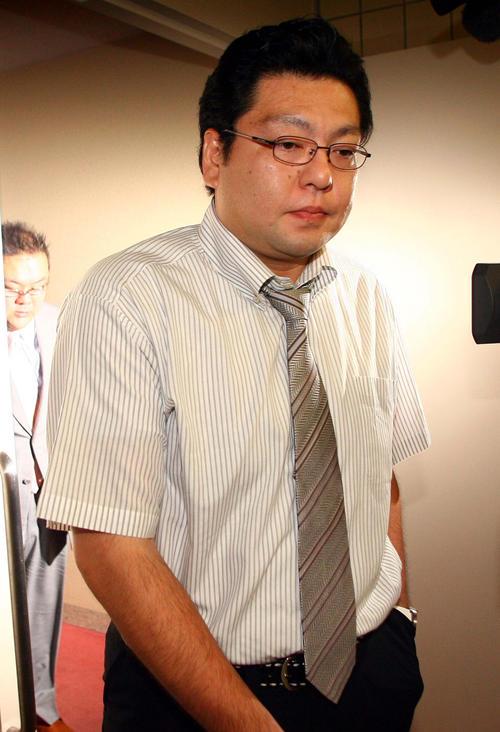 浜風親方(2008年9月6日)