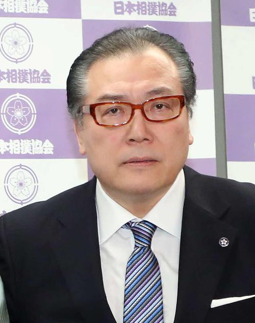 阿武松親方(2018年5月14日撮影)