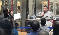 大関とりに挑む朝乃山が爆笑呼ぶ凱旋トークショー - 大相撲 : 日刊スポーツ