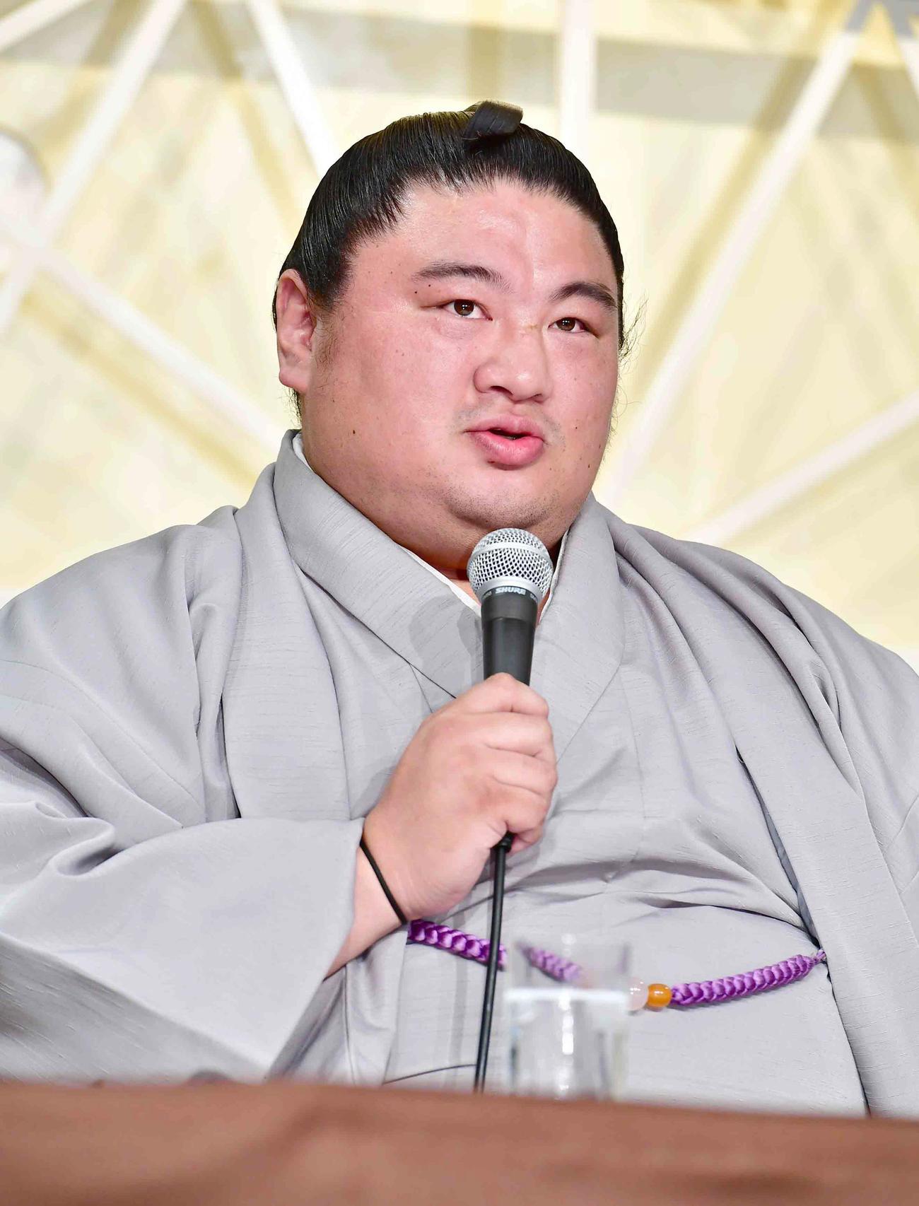 元関脇嘉風の中村親方(2019年9月16日撮影)