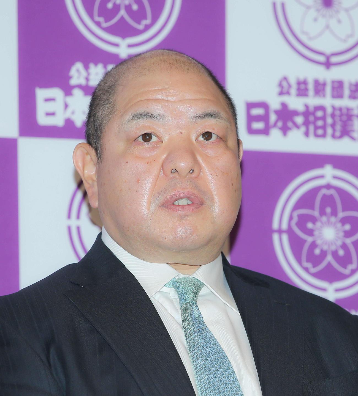 八角理事長(2020年4月3日撮影)