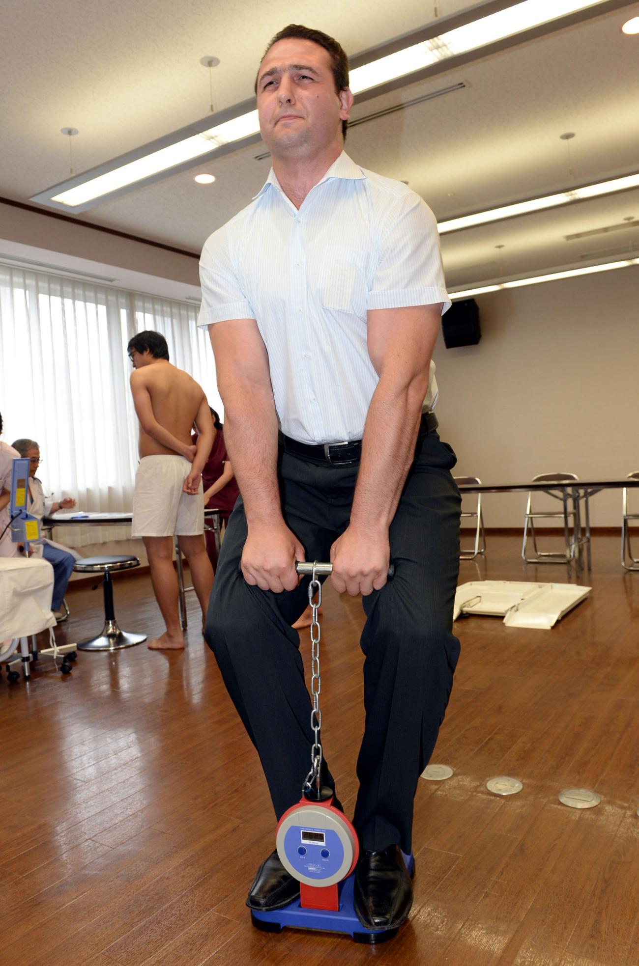 鳴戸親方すごっ!引退から3年も背筋力281キロ - 大相撲 : 日刊スポーツ