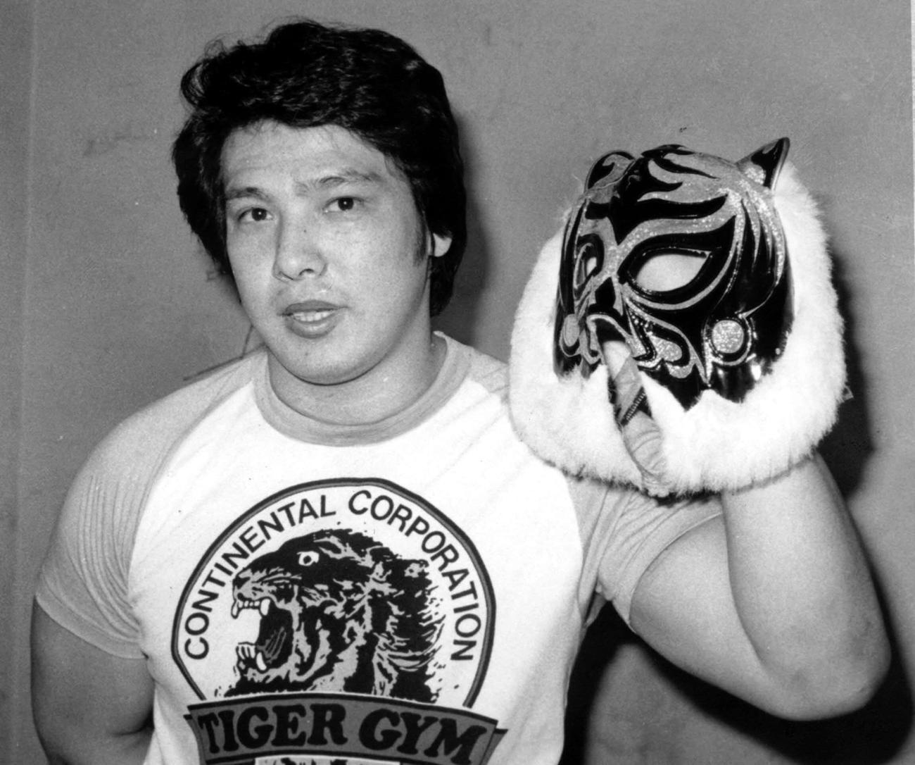84年、初代タイガーマスクの佐山聡