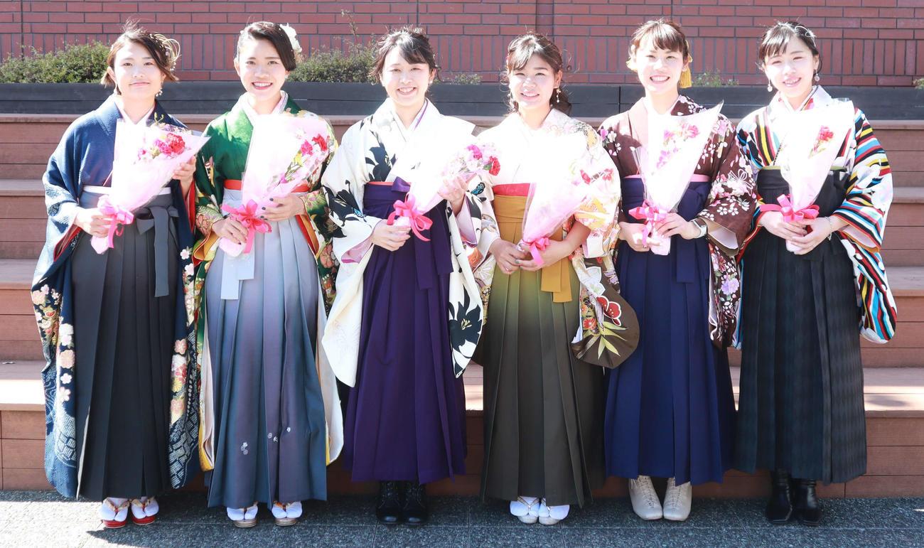 左から田中、松、和田、鈴木、田村、深田