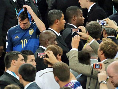 メッシMVPも…マラドーナにはなれず   アルゼンチン   ブラジルW杯 : nikkansports.com
