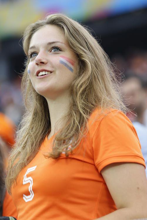 オランダの美女サポーター