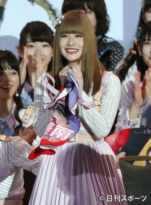 加藤美南30位「笑顔見たい」71位から大幅アップ - AKB48 : 日刊 ...