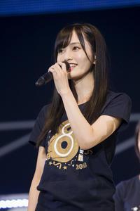 8周年コンサートで、劇場最終公演を発表した山本彩 (C) NMB48