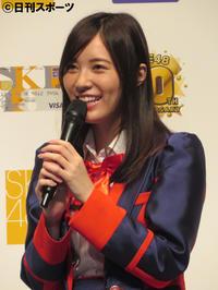 松井珠理奈「今のメンバーで」ナゴヤドーム公演目標 - AKB48 : 日刊スポーツ