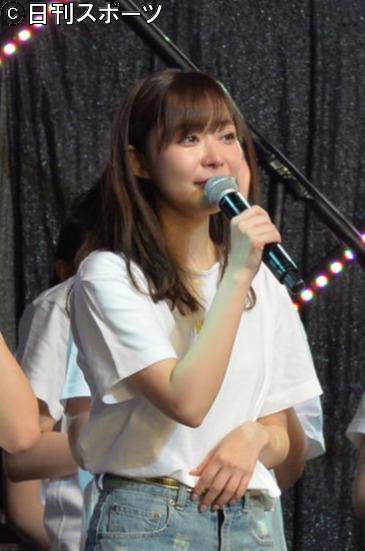 2018年12月15日、グループ卒業を発表した指原莉乃