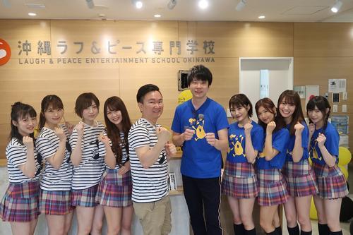 沖縄ロケを行ったかまいたちとNMB48メンバー