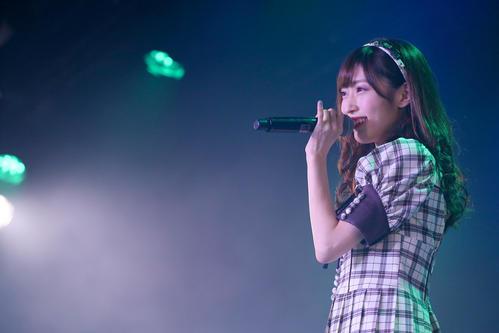 卒業公演で歌うNGT48山口真帆(C)AKS
