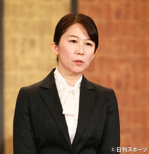 NGT48新支配人の早川麻依子氏(2019年1月14日撮影)