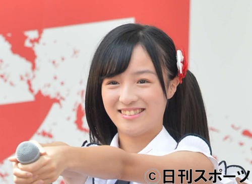 NGT48高沢朋花(2018年9月2日撮影)