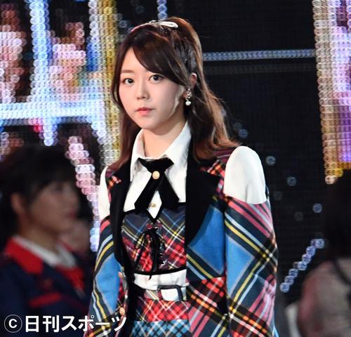 AKB48峯岸みなみ(2018年6月16日撮影)