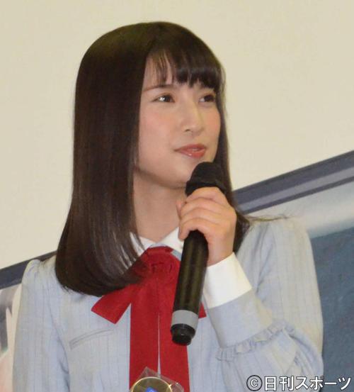 NGT48佐藤杏樹(17年撮影)