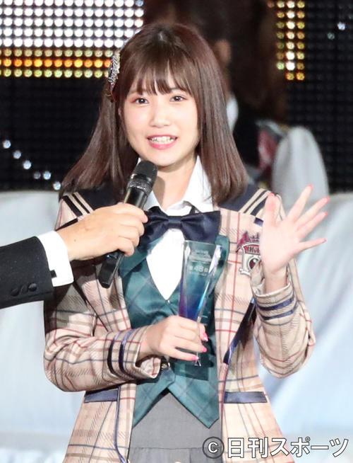 HKT48朝長美桜(2018年6月16日撮影)