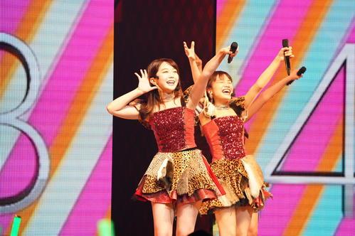 全国ツアーのチームK最終公演に出演したAKB48峯岸みなみ(C)AKS