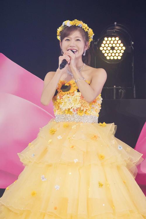 卒業コンサートを行ったNMB48谷川愛梨(C)NMB48