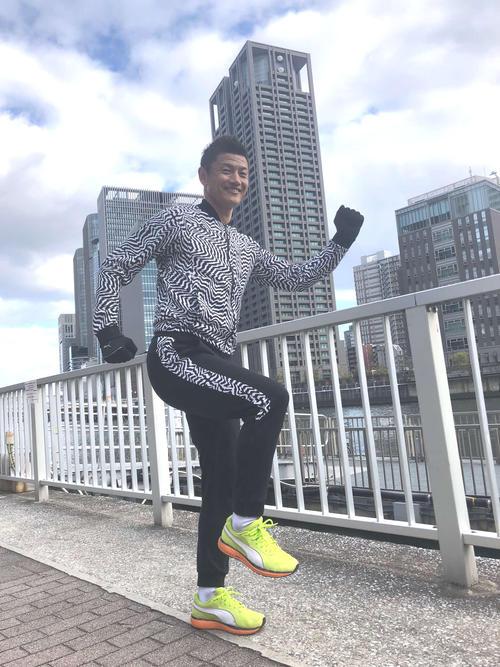 「第40回丹波篠山ABCマラソン」に挑戦するサッカー元日本代表播戸竜二氏