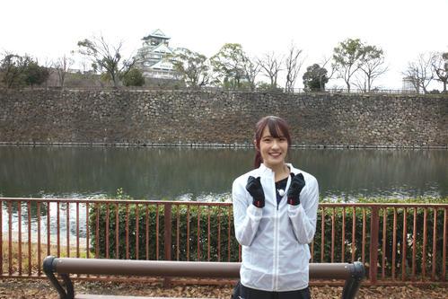 「第40回丹波篠山ABCマラソン」に挑戦するNMB48キャプテンの小嶋花梨