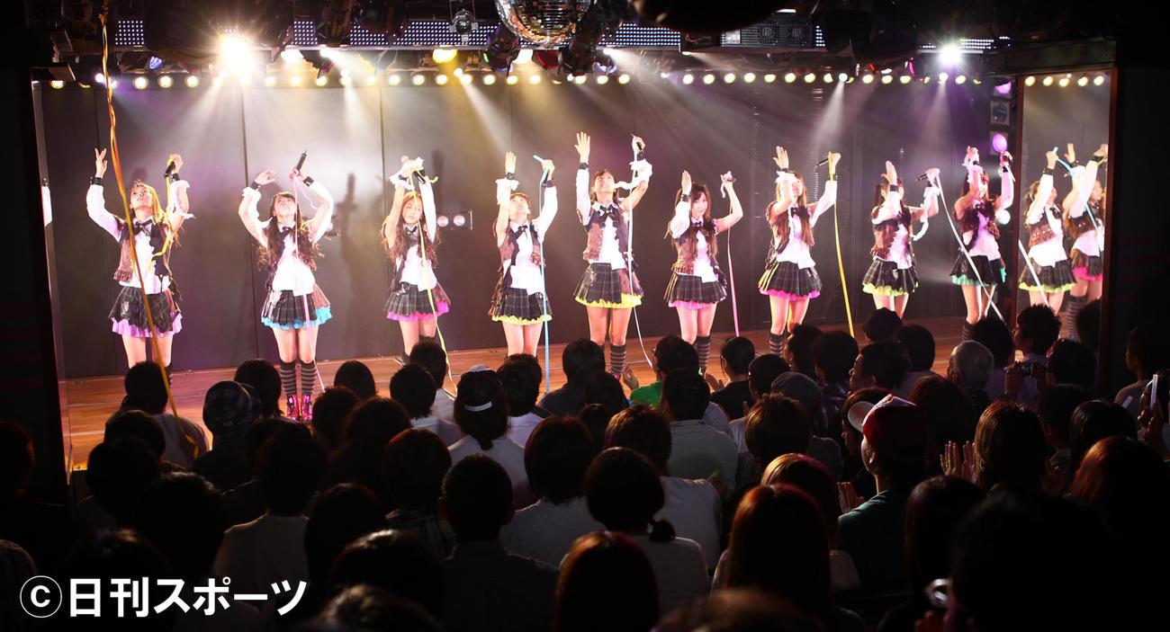 AKB劇場 AKB48公演(2010年06月14日撮影)