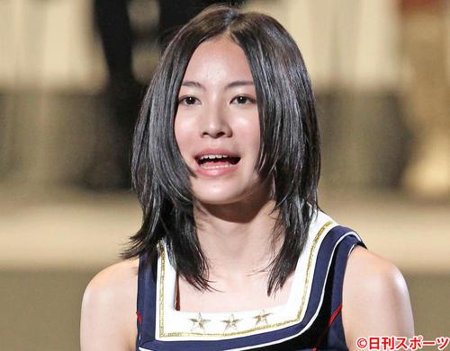 第3回総選挙14位の松井珠理奈(2011年6月9日撮影)